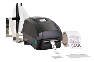 T43R+ 300 dpi Care label printer