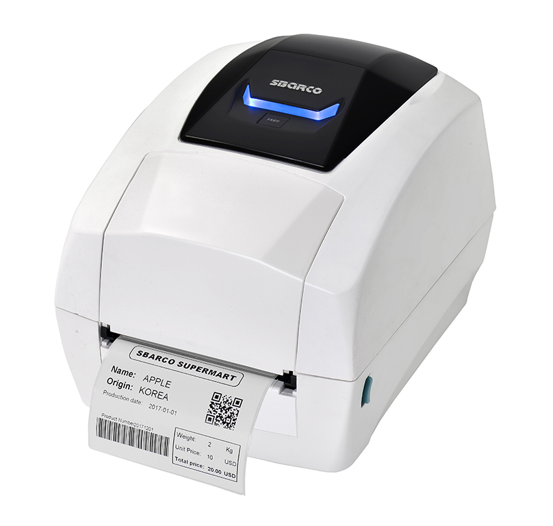 T4ES desk top label printer